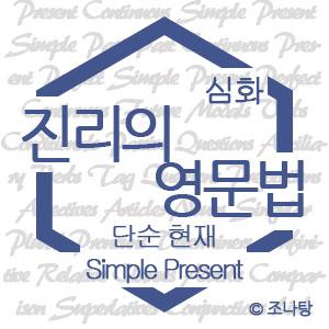[진리의 영문법|심화]시제② 단순 현재