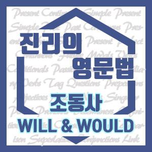 [진리의 영문법] 조동사 will & would