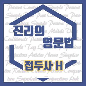 [진리의 영문법] 접두사 H 영어 단어 (hemi-, hexa-, homo-, hydro-, hyper-, hypo-)